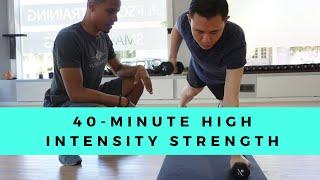 40-Minute Strength & Cardi…