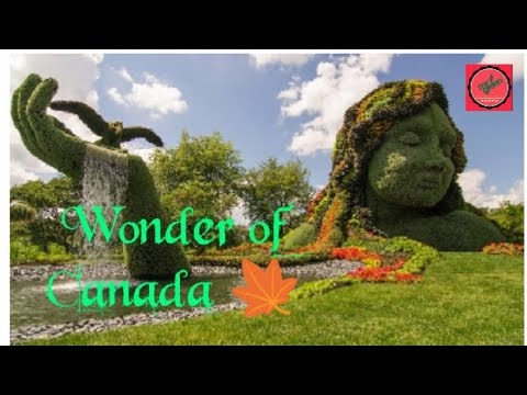 World Largest Montreal Botanical Garden, Quebec, Canada