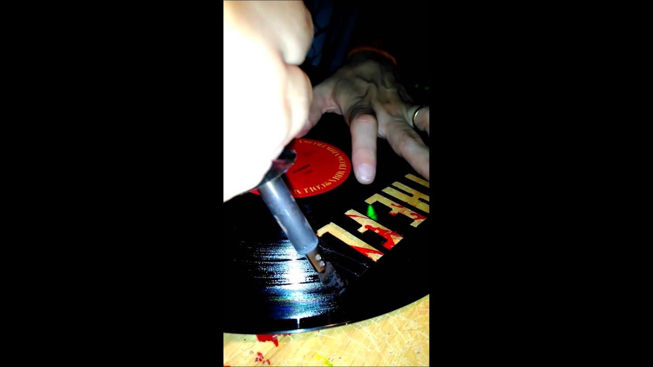 How To Make Vinyl Art 115