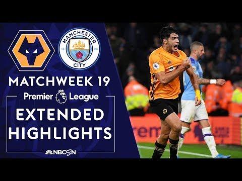 Wolves v. Manchester City | PREMIER LEAGUE HIGHLIGHTS | 12/27/19 | NBC Sports