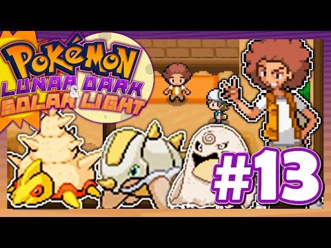 Pokémon Lunar Dark & Solar Light #13 - Fósiles y ¡LÍDER AFRO!