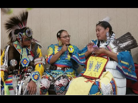 The Northern Arapahoe and Lakota People Tribal Dance
