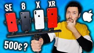 Quel iPhone acheter pour 500€ ? (iPhone SE VS iPhone 8/X/XR)