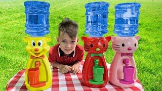 Five Kids Water Song Nursery Rhymes & Children's Songs