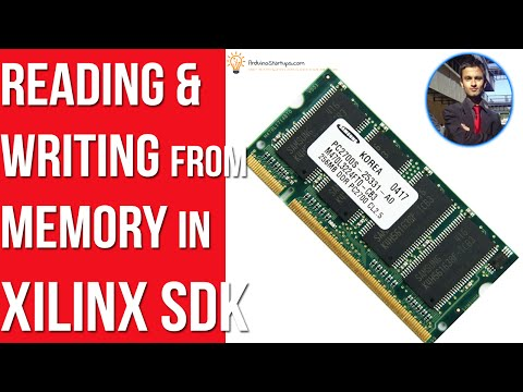 Reading and Writing to Memory in Xilinx SDK - Zynq Tutorials - YouTube
