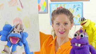 A meditative drawing activity for preschoolers