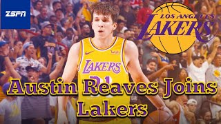 Austin Reaves To Sign 2-year Contract With Lakers, Austin Reaves Will Be LA's 14th Roster Spot
