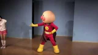 キレがありすぎるアンパンマンにナイト・オブ・ナイツを踊ってもらった