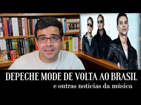 Depeche Mode de volta ao Brasil e outras notícias da música | Notícias | Alta Fidelidade