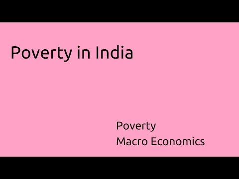 Learn Poverty in India