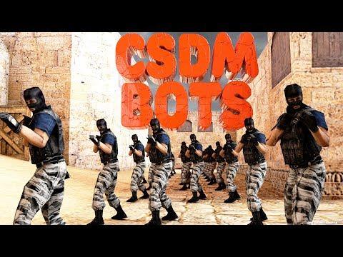 БОТЫ CSDM (Описание и Установка) STEAM\NONSTEAM [2019] СКАЧАТЬ-DOWNLOAD 18+