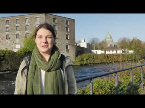 Kevin Quinn Studying Abroad at NUI Galway 2015