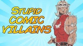 Stupid Comic Villains | The Desk of DEATH BATTLE!