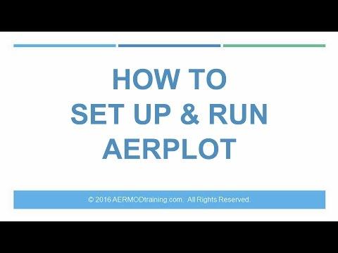 How to Set Up & Run AERPLOT   AERMOD Training - YouTube