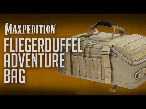 travel-advice:-maxpedition®-fliegerduffel™-adventure-bag