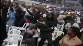 Watch as Pastor Uses Invisible Power to Knock Down Church Me 2