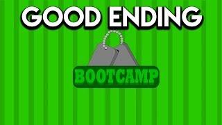 Bootcamp - Full Playthrough (GOOD ENDING) - Roblox
