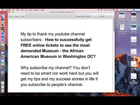 How To Get FREE Online Tickets To See DC African American Museum? Tip For My Subscribers