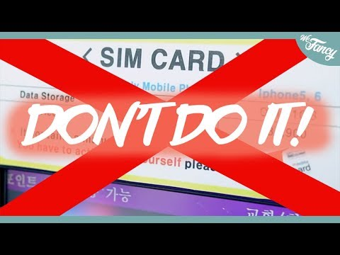 DON'T GET a SIM Card in Korea Until You Watch This Video! Mp3