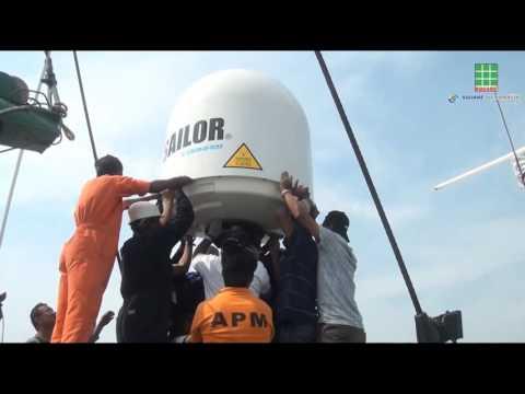 Maritime VSAT deployment