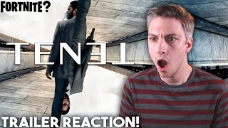 TENET - NEW TRAILER - Fortnite Premiere Reaction!