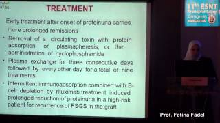 FSGS Recurrence prof  fatina Fadel