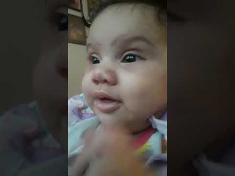 Jaylee Saying I Love You 3 Months Old Youtube