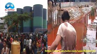 Heboh…. Video Tumpahnya 7000 Ton Minyak Mentah Sawit di Riau