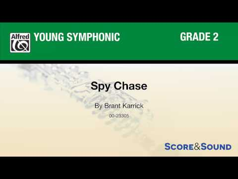 Spy Chase, by Brant Karrick – Score & Sound