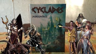 Cyclades: Monuments (2016)