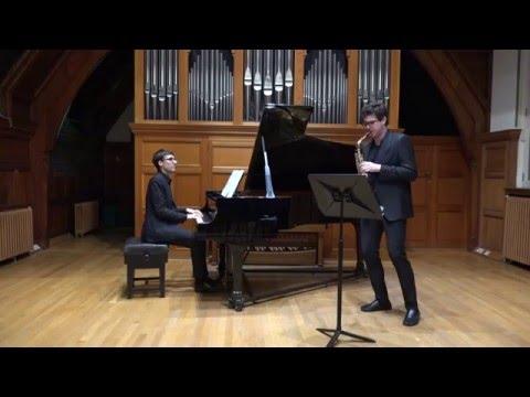 Bernstein: Maria, West Side Story (Gerardo Gozzi, alto saxophone & Stefano Marzanni, piano)