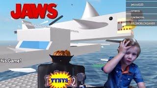 ROBLOX JAWS (ALEK KOOL KAT)(KID GAMING)