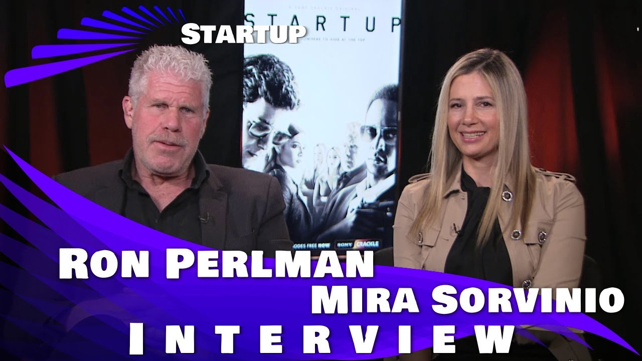 Download StartUp - Mira Sorvino and Ron Perlman Interview