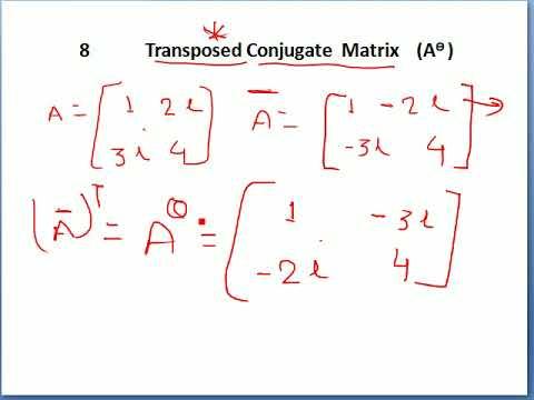 Lec 01 Matrices Part 01
