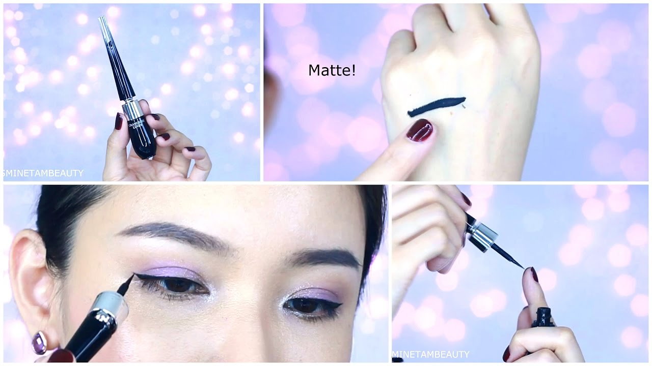 ab2a58a0b30 My MUST have eyeliner! Lancome Grandiose Eyeliner - YouTube