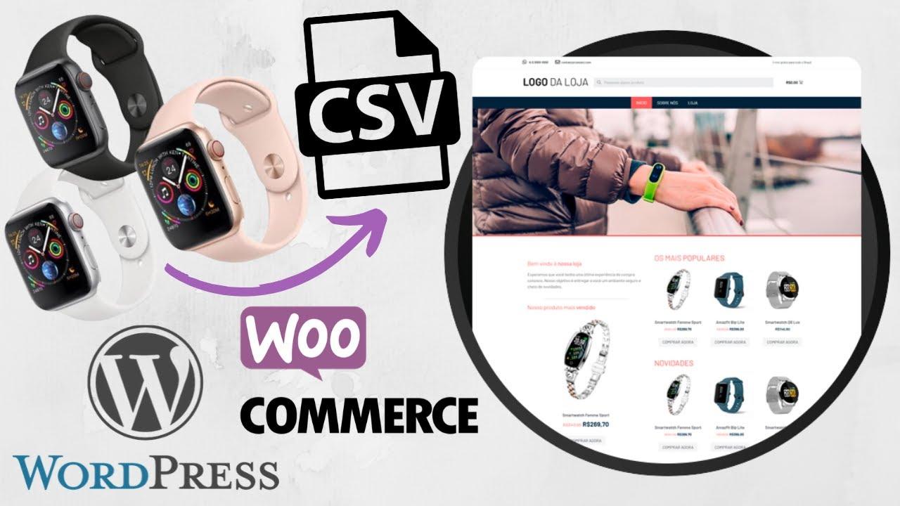 Como Importar Produtos para Loja Virtual | CSV | Woocommerce | Wordpress | Dropfull | Uberflow