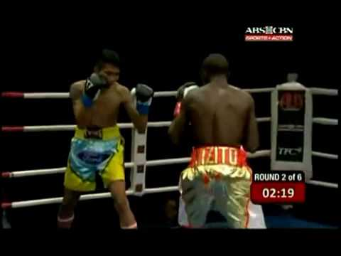 PINOY PRIDE 32 Deo Kizito vs. Fapetch Manopchaigym 8/7/15