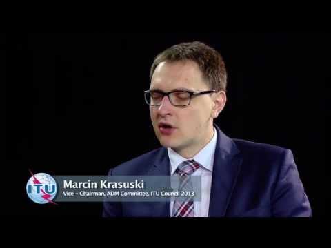Marcin Krasuski, Vice-Chairman, ADM Committee, ITU Council 2013 - Interview