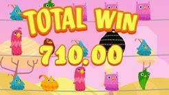 BIG WIN (x710) - Birds on a Wire Online Slot Machine - Thunderkick Slots