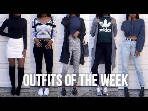 708082ba3fb8 OOTW: Winter Outfits//School Outfit Ideas - YouTube