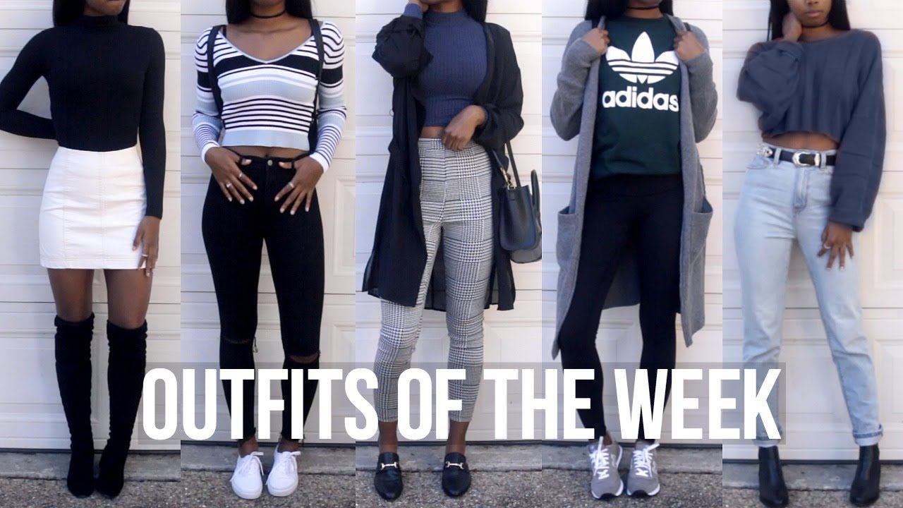 OOTW: Winter Outfits//School Outfit Ideas 2