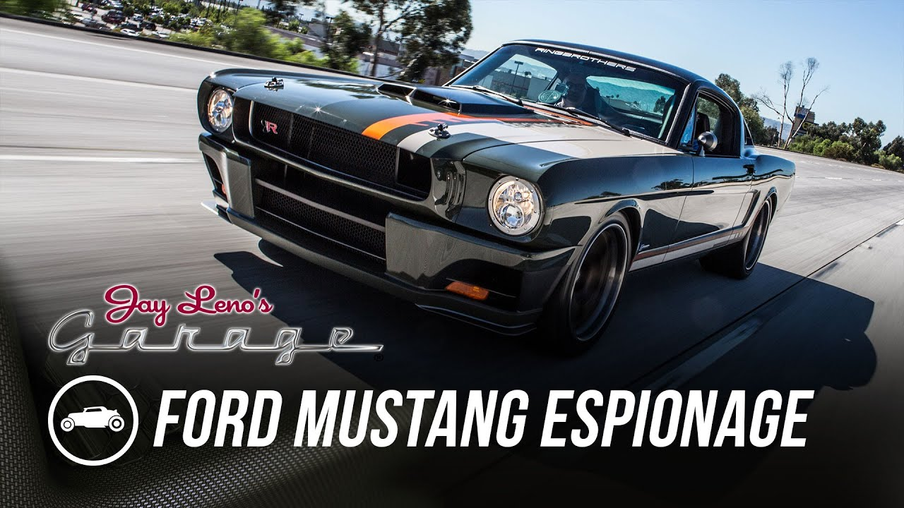 65 Ford Mustang >> Ringbrothers 1965 Ford Mustang Espionage - Jay Leno's Garage - YouTube