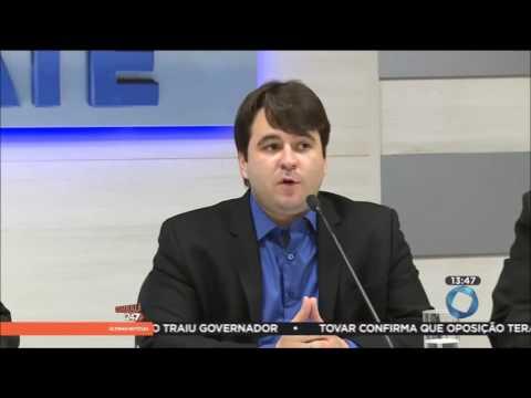 Daniel Galdino é entrevistado na TV Tambaú. Veja vídeo!