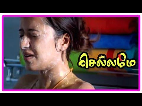 Chellame Movie Scenes | Title Credits | Aararo Song | Friends Tease Vishal | Reema Sen | Bharath