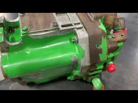 John Deere 8100 Hydraulic Pump & Parts (RE60267)