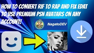 How To Convert Rif To Rap And Fix Edat To Use Premium Avatars On Any Account!
