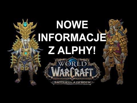 Nowe UI, Mount Orków z Draenoru... Battle for Azeroth Alpha (World of Warcraft)