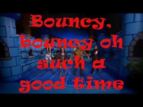 The Mighty Boosh Bouncy Bouncy Crimp Lyrics