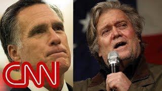 Steve Bannon rips Mitt Romney for lack of military service