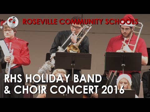 RHS Holiday Collage Concert: Choir & Band 2016